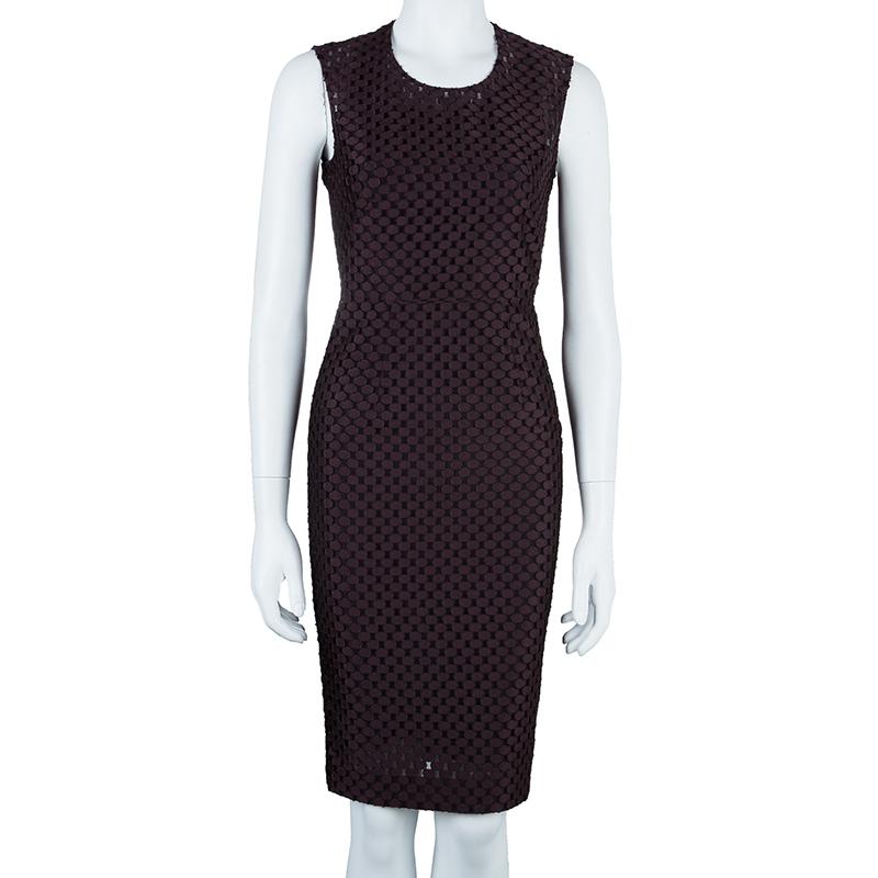 Burberry Plum Claret Dress XS