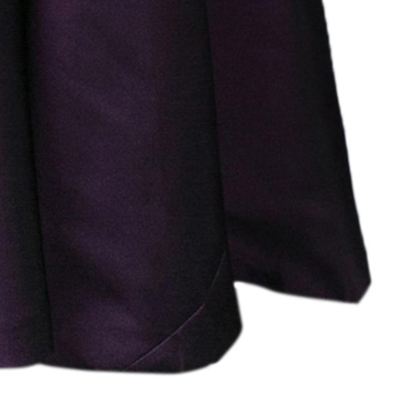 Alberta Ferretti Limited Edition Purple Silk Gown S