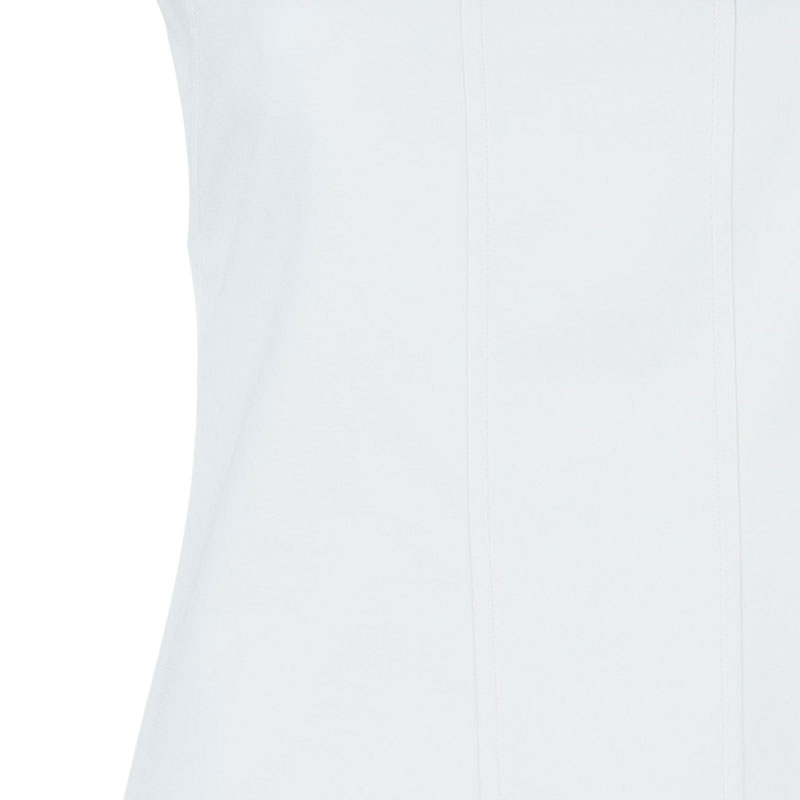 Versace Collection White Shift Dress M