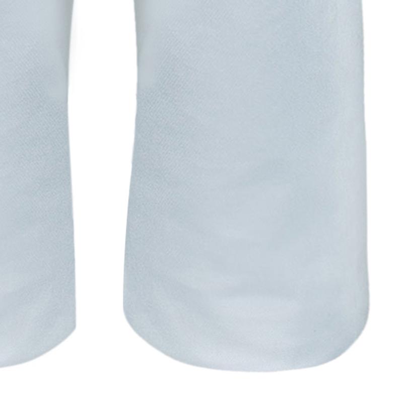Chanel White Denim Pants M