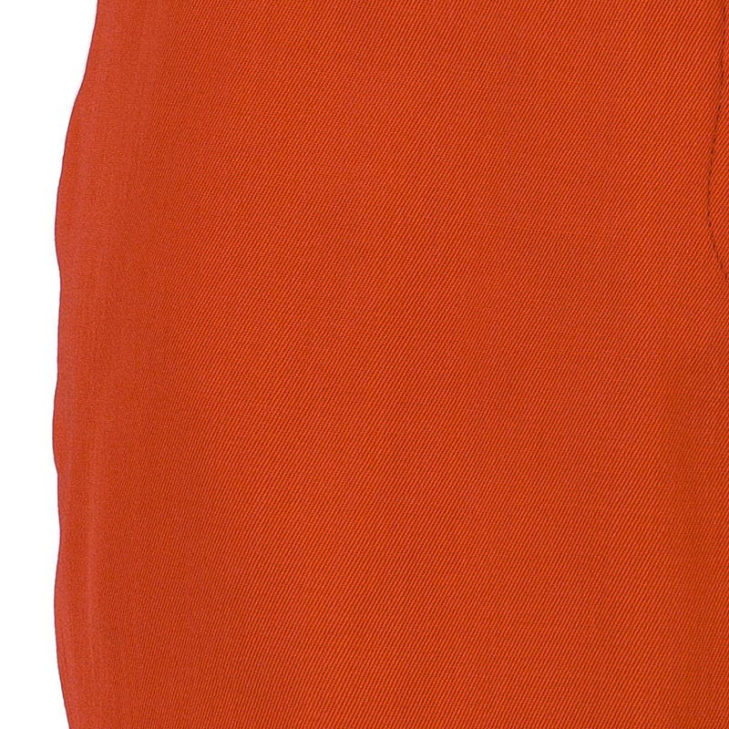 Jil Sander Red Tailored Shorts XS