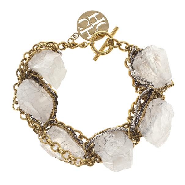 CH Carolina Herrera Chain & Rock Bracelet