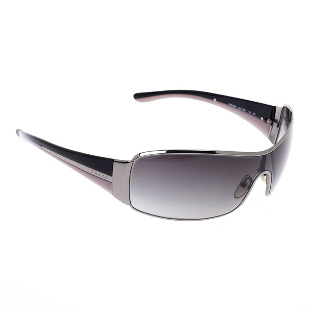 Prada Black Shield Women Sunglasses