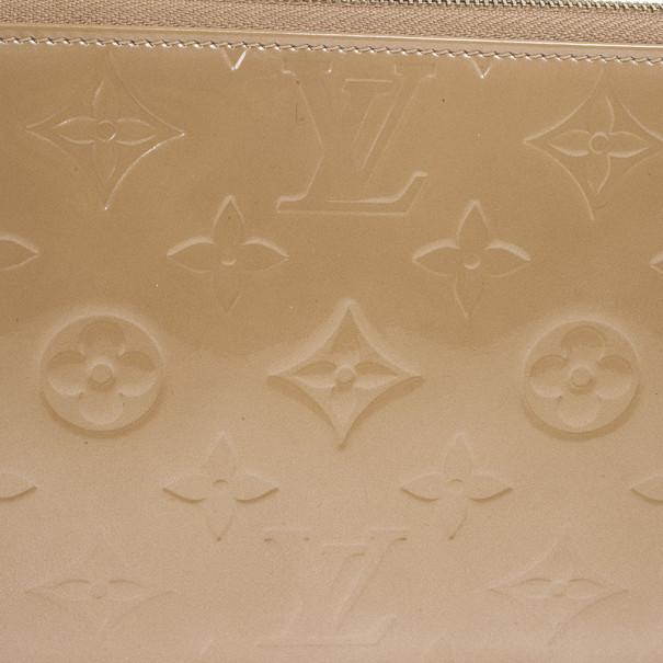 Louis Vuitton Beige Monogram Vernis Lexington Pochette Bag