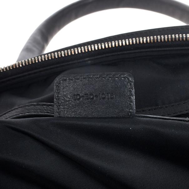Dior Black Monogram My Dior Frame Pocket Satchel