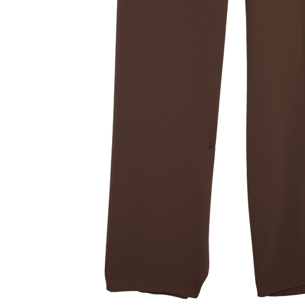 Max Mara Ruffle Jumpsuit L
