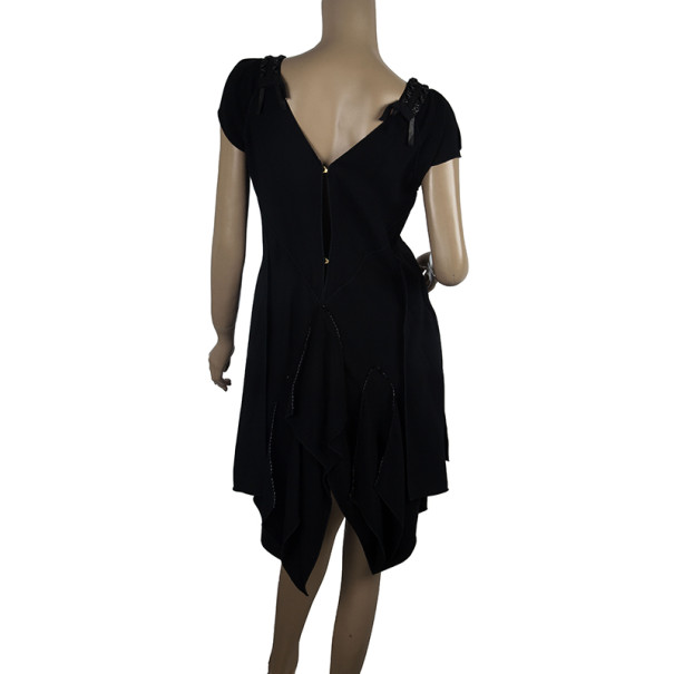 Louis Vuitton Ruffle Patch Dress M