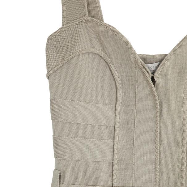 Stella McCartney Wool Stretch Utility Dress S