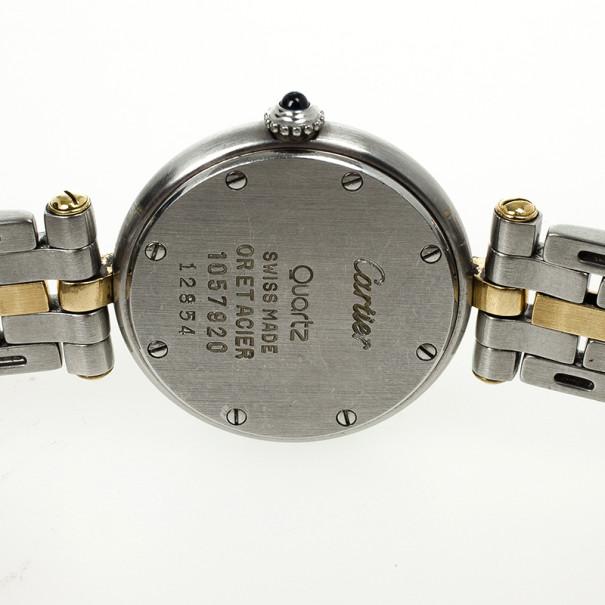 Cartier Vendome Vintage Womens Wristwatch 27.5MM