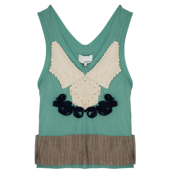 3.1 Phillip Lim Ribbon Embellished Top S