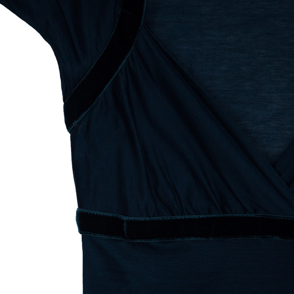 Gucci Blue Short Sleeve Top M