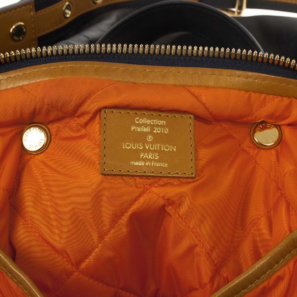 Louis Vuitton Prefall 2010 Aviator Bag Marine