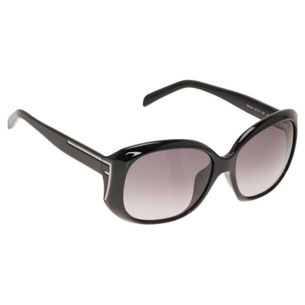 Fendi Black FS5329 Oversized Square Sunglasses