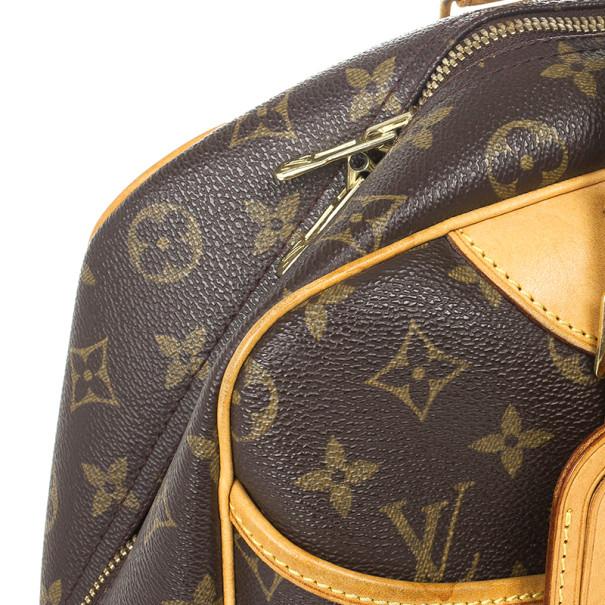 Louis Vuitton Monogram Deauville Boston