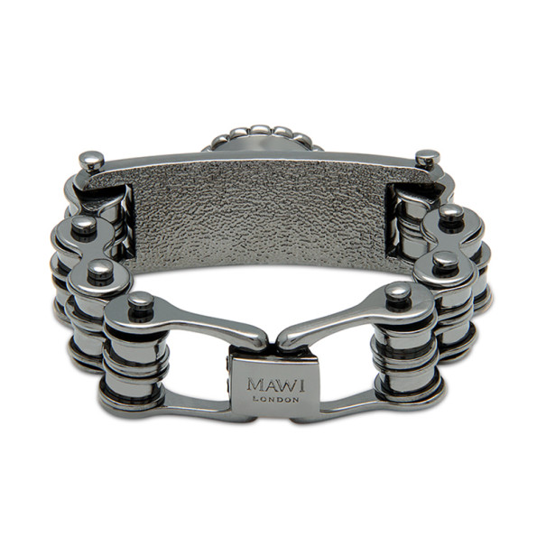 Mawi Double Link Bike Chain ID Bracelet