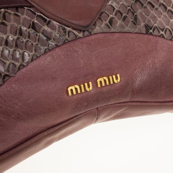 Miu Miu Dragonfly Clutch