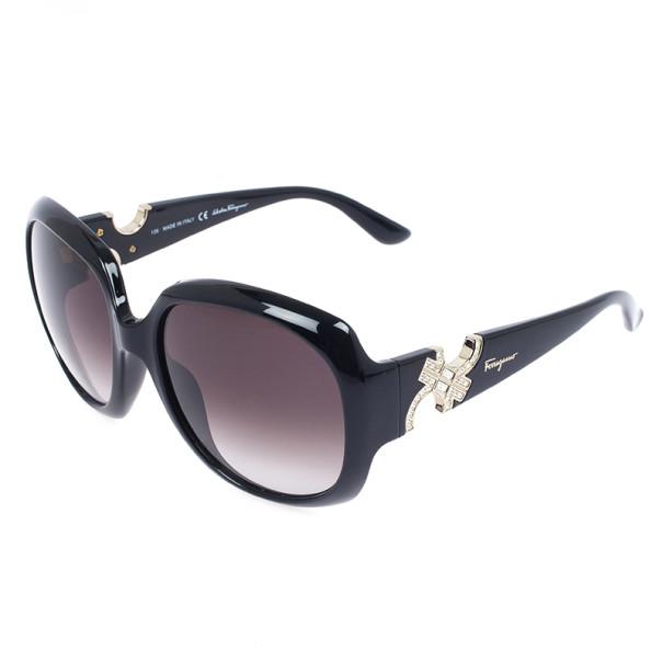 Salvatore Ferragamo Black Woman Sunglasses SF641SR-001