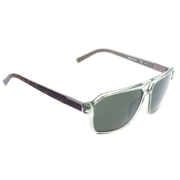 Calvin Klein Brown & Green Unisex Sunglasses CK7857S-301