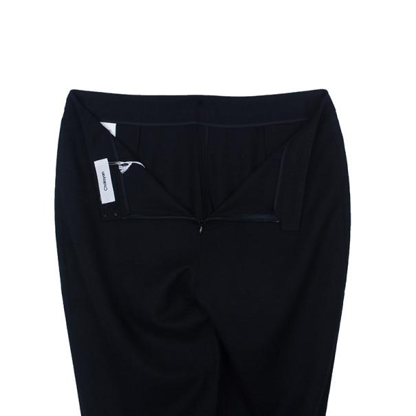 Chalayan Black Wool Slim Pants S