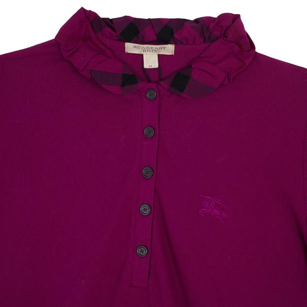 Burberry Cotton Modal Polo Shirt M