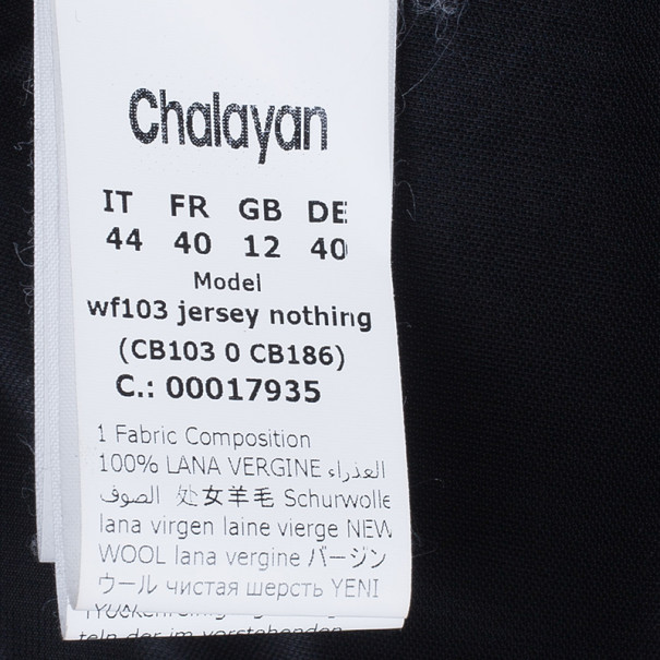 Chalayan Jersey Nothing Skirt M