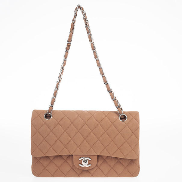 Chanel Classic Pink Caviar Medium Flap Bag
