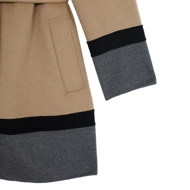 MaxMara Studio Block Color Coat M