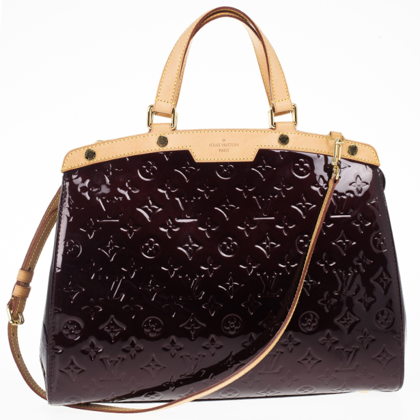 Louis Vuitton Rouge Fauviste Monogram Vernis Brea MM