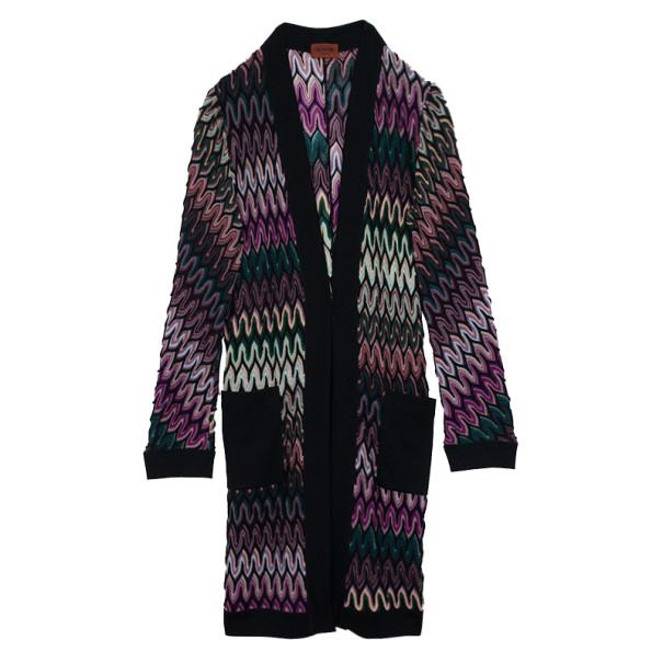 Missoni Multicolor Front Pocket Coat