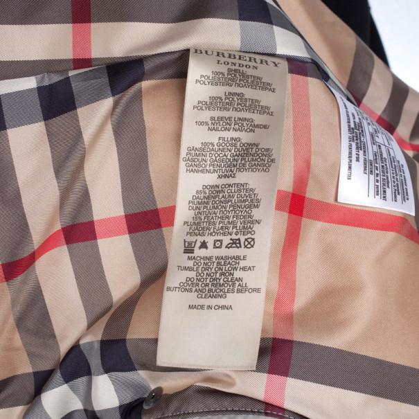 Burberry Puffer Jacket XS