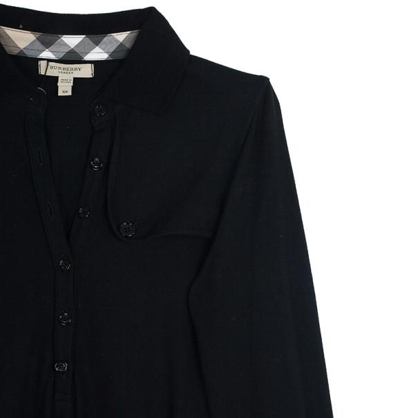 Burberry Brit Long Sleeve Dress XS