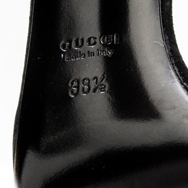 Gucci Gold Delphine Ankle Strap Sandals Size 38.5