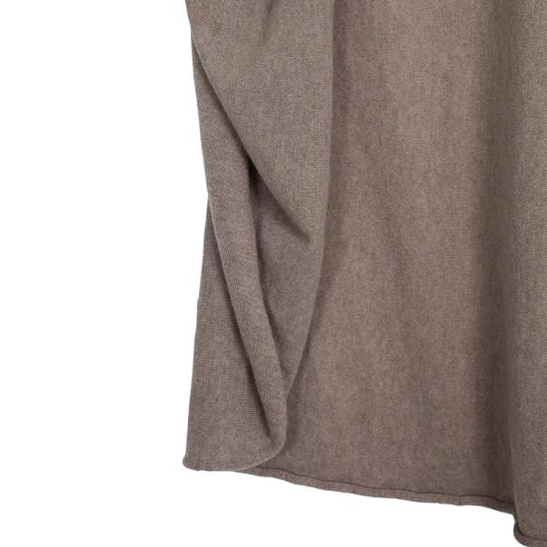 Lanvin Cashmere Draped Cardigan S