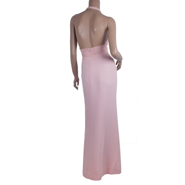 Celine Halter Neck Flow Dress S