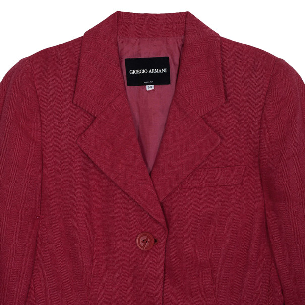 Giorgio Armani Pink Blazer S