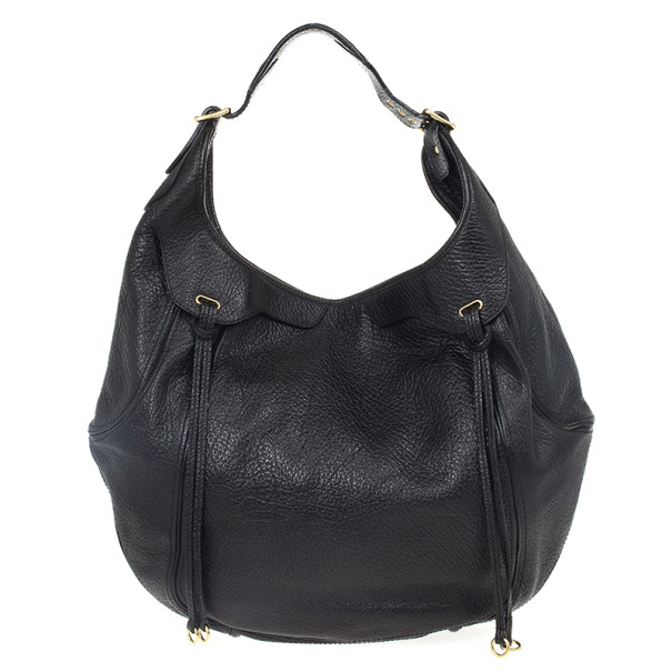 Givenchy Black Leather Eclipse Hobo