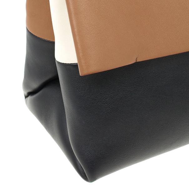 Celine All Soft Calfskin Mellow Shoulder Bag and Pouch