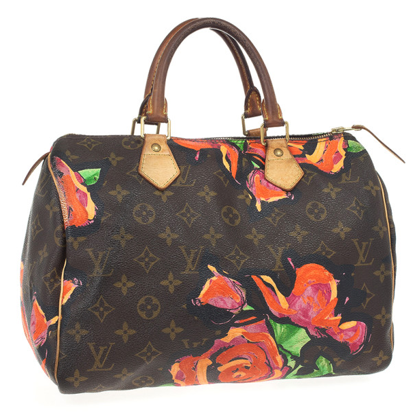 Louis Vuitton Limited Edition Stephen Sprouse Roses Speedy 30