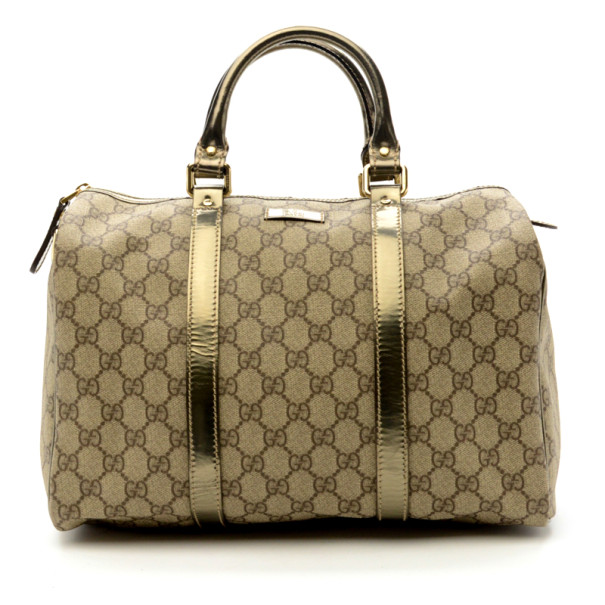 Gucci Gucissima Metallic Joy Boston Bag