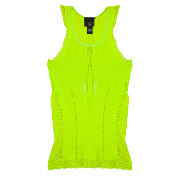 Just Cavalli Neon Stretch Top S