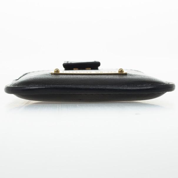Alexander McQueen Logo Plaque Bond iPhone Cover