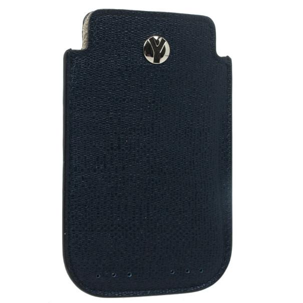 Yves Saint Laurent Navy Blue Ycon iPhone Cover