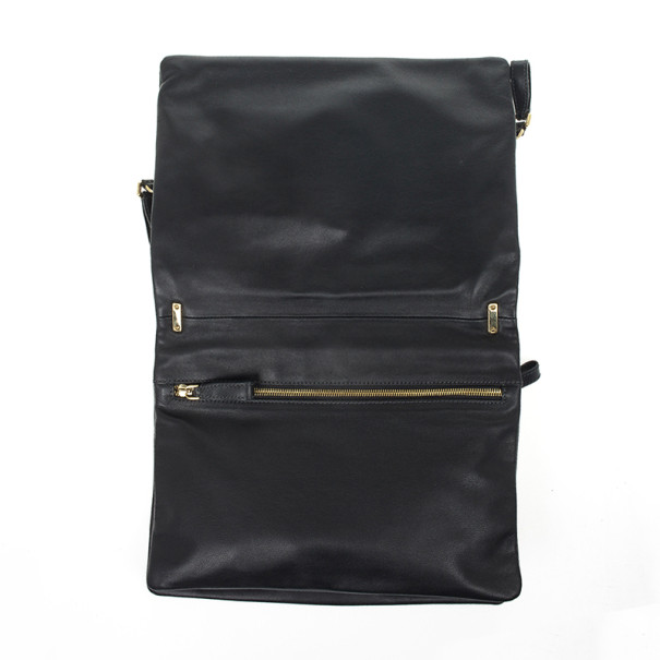 Dolce and Gabbana Two Toned Leather Crossbody