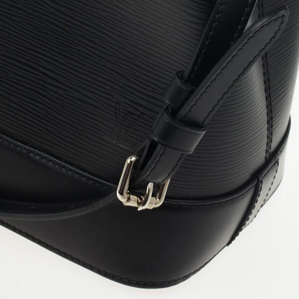 Louis Vuitton Black Epi Mirabeau Tote