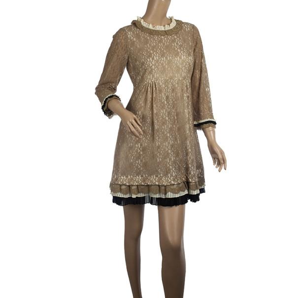 Marc by Marc Jacobs Dita Lace Mini Dress M