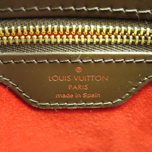 Louis Vuitton Damier Ebene Canvas Hampstead PM