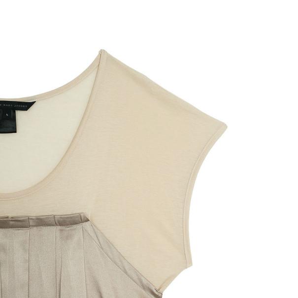 Marc by Marc Jacobs Margot Tonal Color Block Dress L