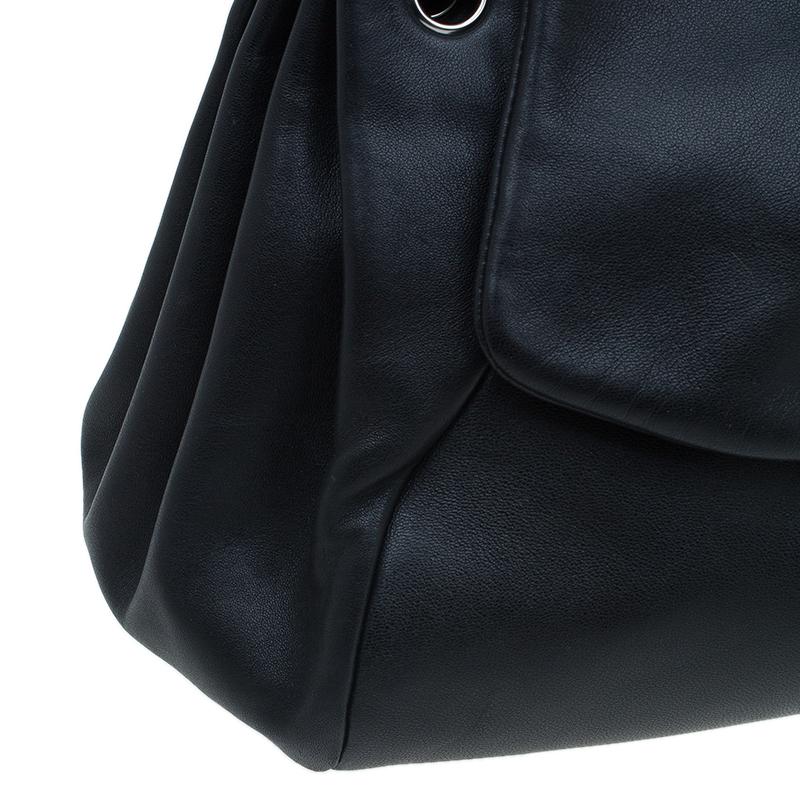 Chanel Black Ultra Soft Lambskin Sensual Accordion Flap Bag