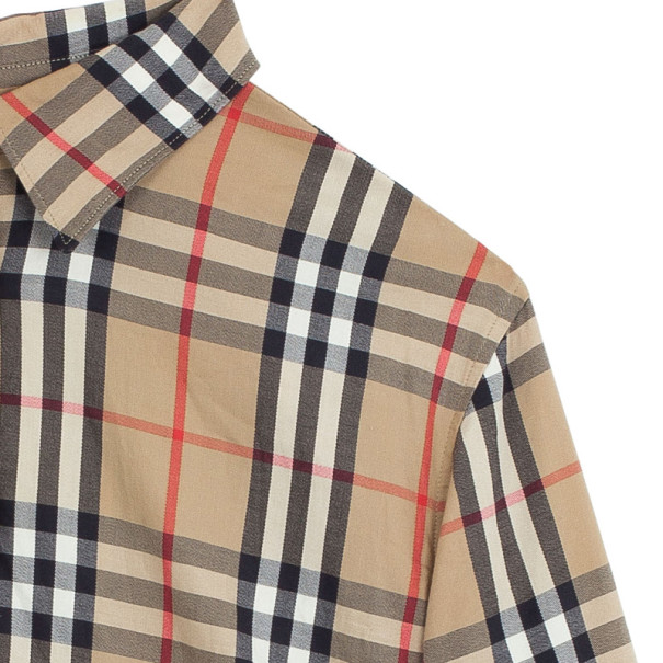 Burberry Brit Woven Exploded Check Shirt M