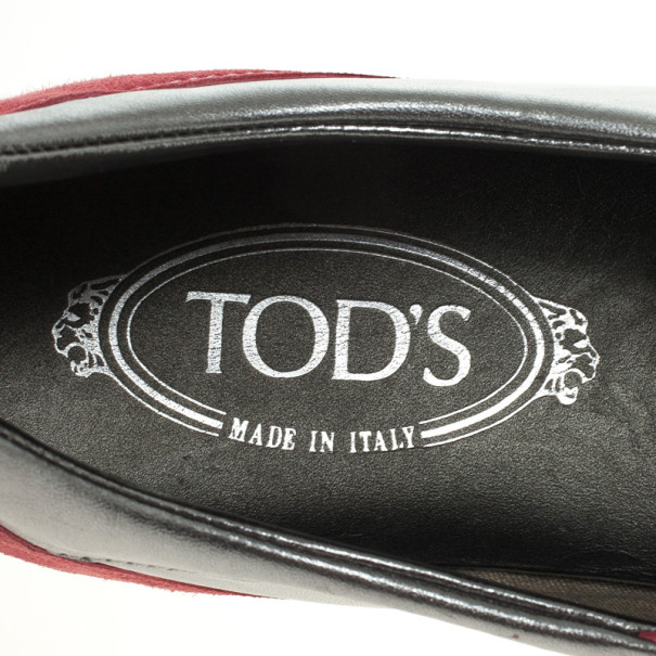 Tod's Two Tone Suede Sneakers Size 39